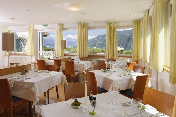 Il ristorante Frangarto (Strada del Vino Nord) Sigmundskron
