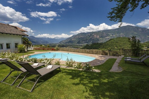 Swimming pool Hotel Sigmundskron