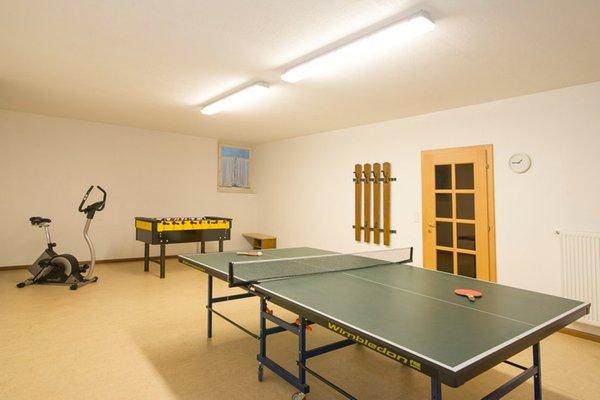 La sala giochi Appartamenti in agriturismo Angerheim