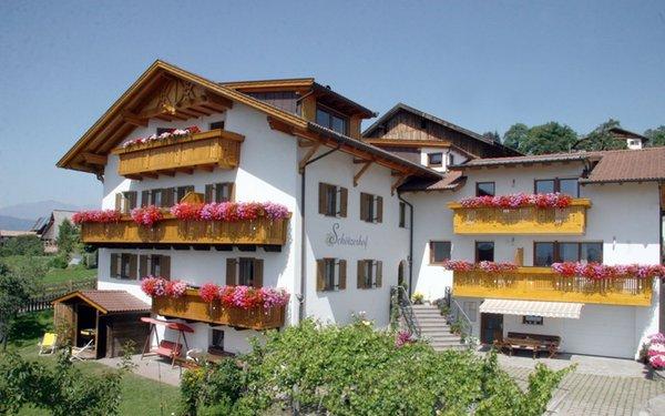 Sommer Präsentationsbild Ferienwohnungen auf dem Bauernhof Schötzerhof