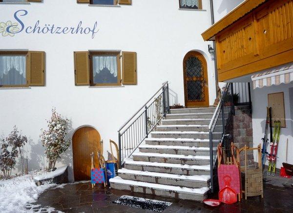 Foto Außenansicht im Winter Schötzerhof
