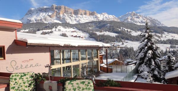 Foto invernale di presentazione Serena - Hotel 3 stelle