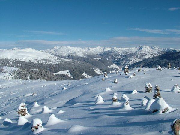 Foto invernale di presentazione Associazione turistica Meltina