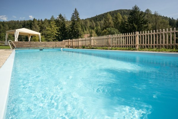 Photo of the outdoor swimming pool
