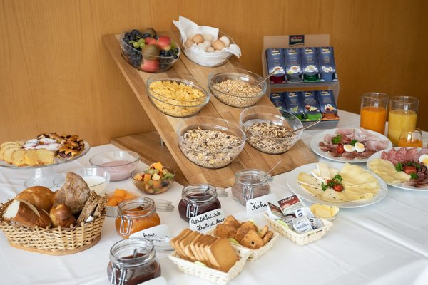 The breakfast Hotel Langeshof