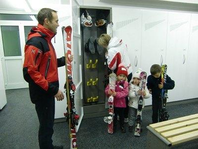 The skiroom Ski rental Skiland