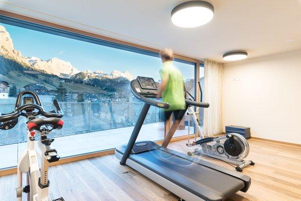 Foto della zona fitness Hotel Tofana Explorer's Home