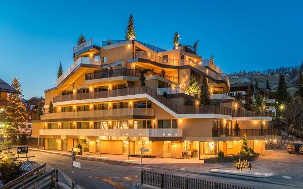 Foto invernale di presentazione Hotel Tofana Explorer's Home