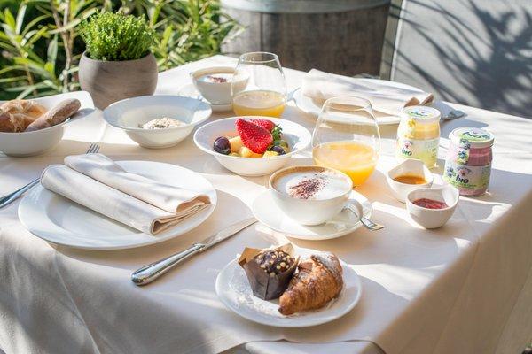La colazione Ansitz Romani - Camere + Appartamenti 4 soli