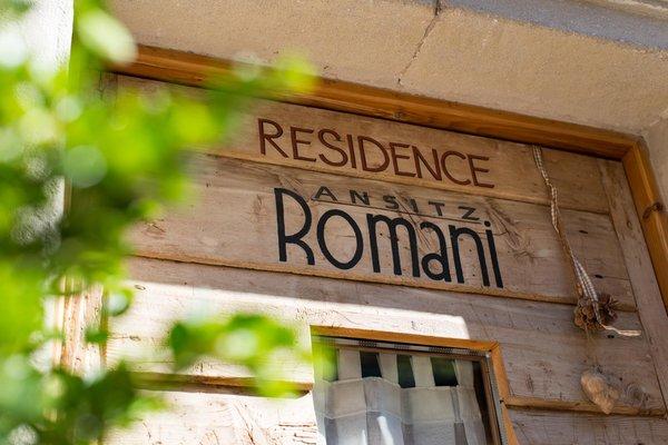 Foto esterno in estate Ansitz Romani