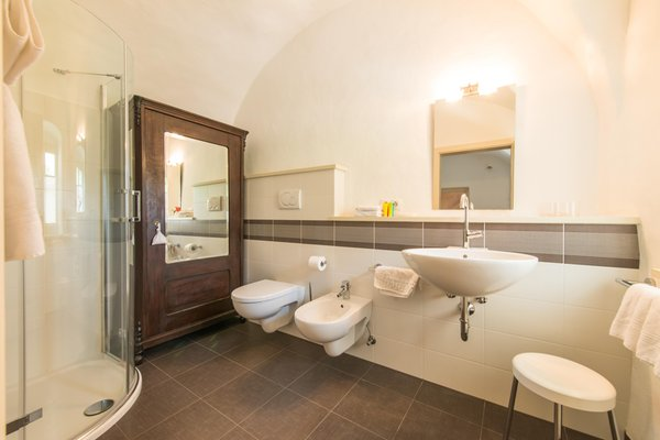 Foto del bagno Camere + Appartamenti Ansitz Romani