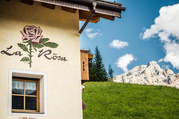 Foto estiva di presentazione Apartments La Rösa - Appartamenti 3 soli