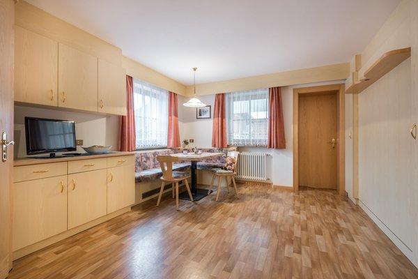 La zona giorno Apartments La Rösa - Appartamenti 3 soli
