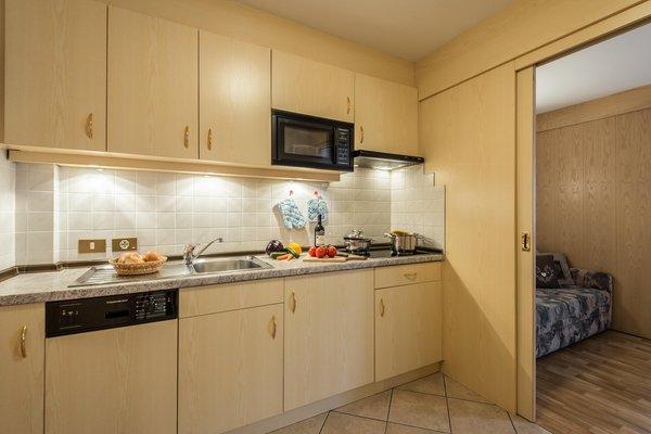 Foto della cucina Apartments La Rösa