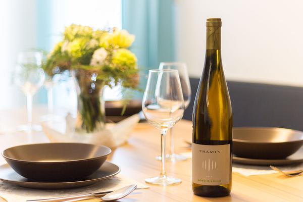 Il ristorante Termeno (Strada del Vino Sud) Sonnhof