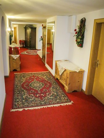 Die Gemeinschaftsräume Hotel Ustaria Posta