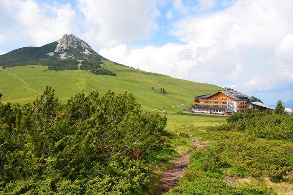 La posizione Hotel Corno Nero Passo Oclini