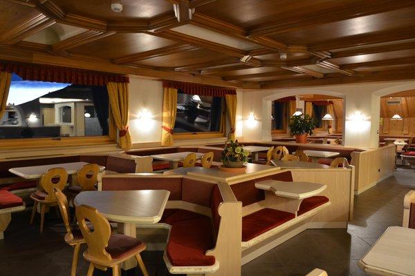 Il ristorante Passo Oclini Corno Nero