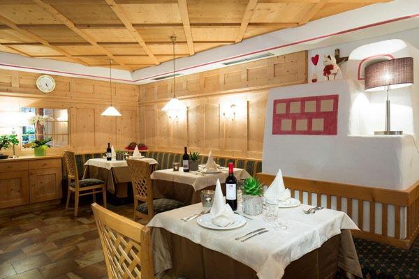 Il ristorante San Cassiano Vajolet