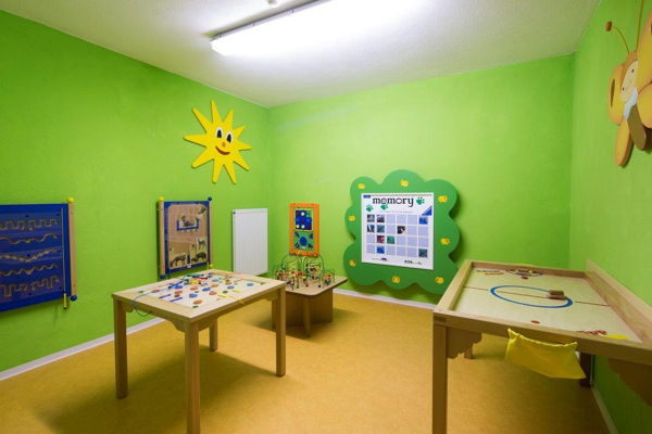 The children's play room Hotel Vajolet