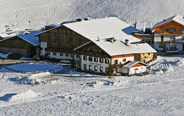 Foto esterno in inverno Bergerhof