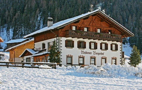 Photo exteriors in winter Bergerhof
