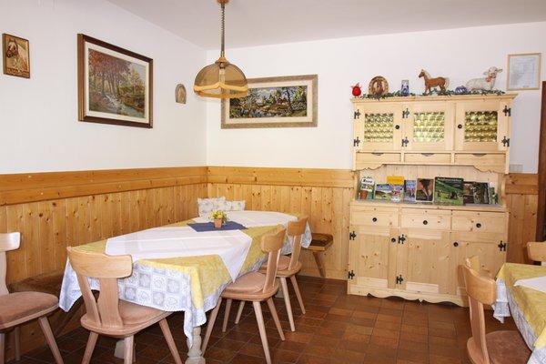 The restaurant Val Sarentino / Sarntal Bergerhof