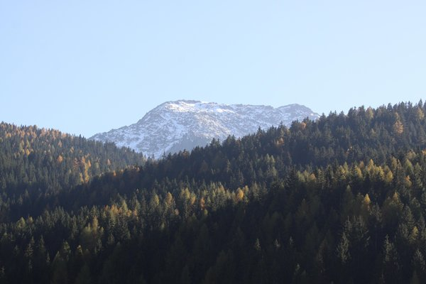 Panoramic view Val Sarentino / Sarntal