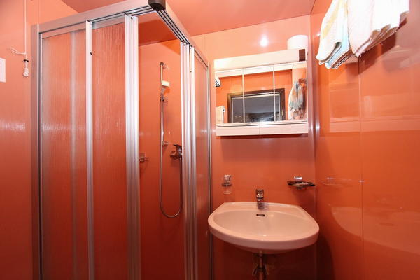 Photo of the bathroom Hotel Cime Bianche