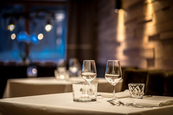 The restaurant La Villa Des Alpes