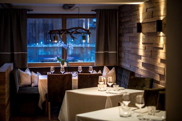 Il ristorante La Villa Des Alpes