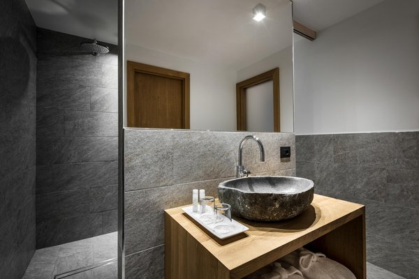 Foto del bagno Hotel Des Alpes