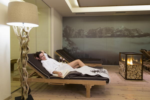 Photo of the wellness area Hotel Des Alpes