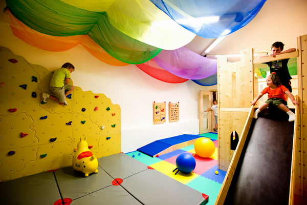 The children's play room Hotel Des Alpes