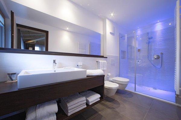 Foto del bagno Hotel Ciasa Soleil