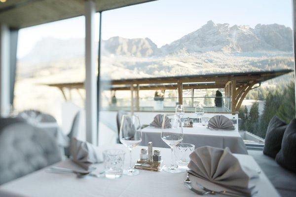 Il ristorante La Villa Ciasa Soleil