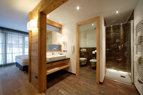 Photo of the bathroom Hotel Ciasa Soleil