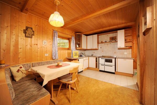 La zona giorno Appartamenti in agriturismo Maurerhof
