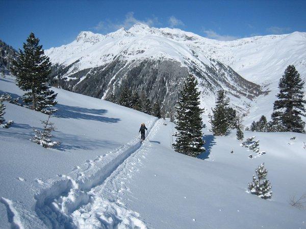 Foto invernale di presentazione Associazione turistica Val Sarentino