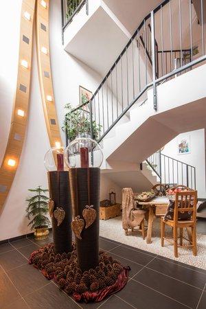 The common areas Hotel Rezia