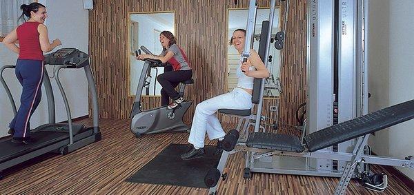 Foto della zona fitness Albergo S.Leonardo