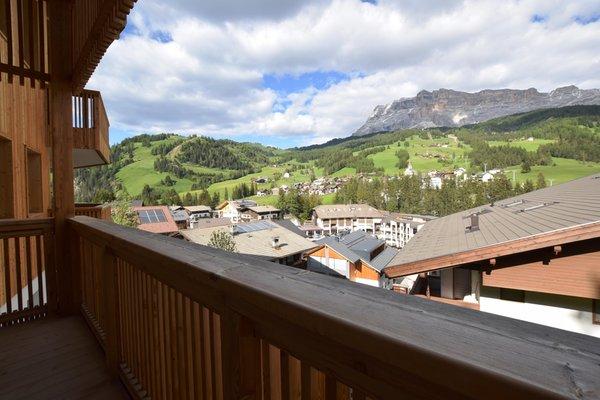 Foto vom Balkon Ciasa Lisüra