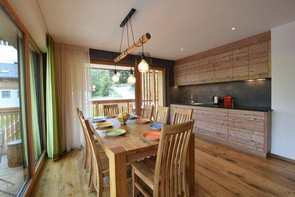 Foto der Küche Ciasa Lisüra