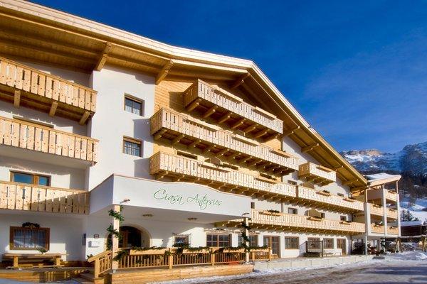 Foto invernale di presentazione Residence Ciasa Antersies