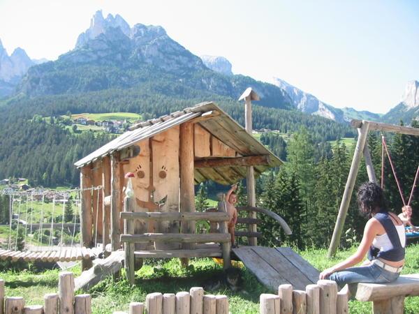 Photo of the garden Pozza di Fassa