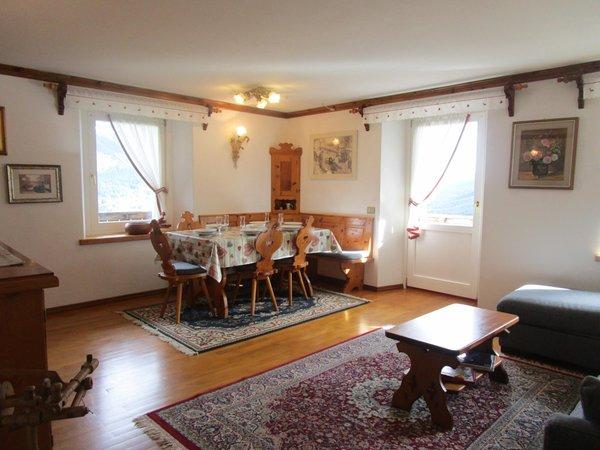 La zona giorno Casa Zamar - Appartamenti