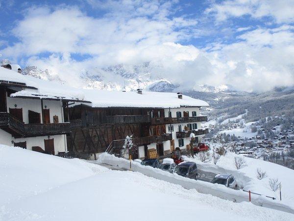 Foto invernale di presentazione Casa Zamar - Appartamenti