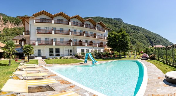 Foto estiva di presentazione Hotel Grüner Baum / Albero Verde
