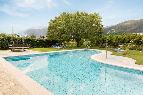 La piscina Garni + Residence Midl