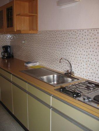 Foto della cucina Tschuffenerlhof